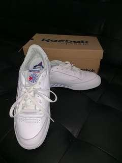 Reebok's classic white leather