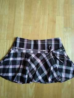 Checkered Skirt from Japan