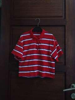 Bershka Striped Shirt #onlinesale
