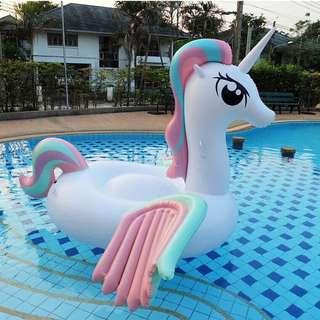 Pastel Pony Unicorn Float Inflatable Giant Pool Floats Fun Swimming Beach Party