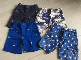 🚚 Bundle Boys Shorts 4-6y