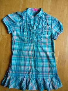 Checked blouse by Elle