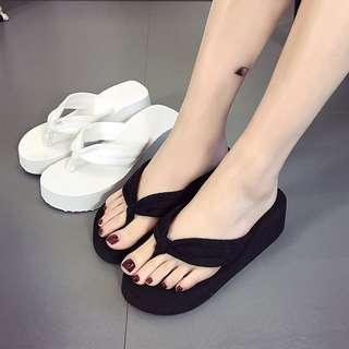 Beach Sandals Wedge Platform Thongs Slippers Flip Flops