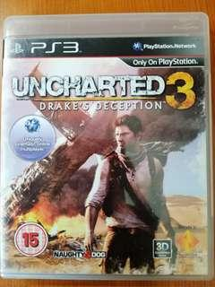 PS3 Game UnChartered 3