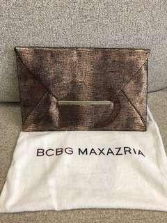 BCBG Bronze Clutch 銀包 >>>>