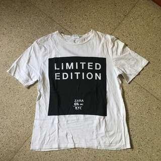 ZARA tshirt / kaos #onlinesale