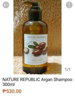 NATURE REPUBLIC Argan Shampoo 300ml