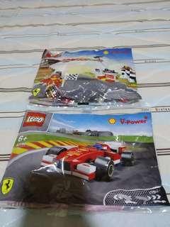 Lego Shell Ferrari Set
