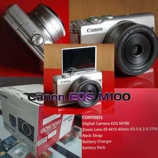 Canon EOS M100, cicilan tanpa CC