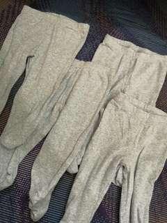 4pcs Carter pants