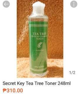 Secret Key Tea Tree Toner 248ml
