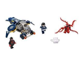 Lego 76036 Marvel Super Heroes : Carnage's SHIELD Sky Attack