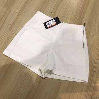 BNWT Seed white high waist short