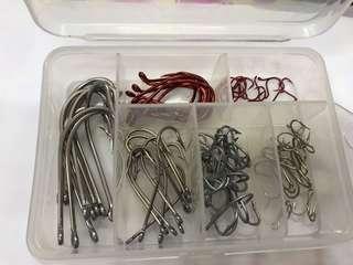 Fishing Hooks Combo Set A (10 hooks each)