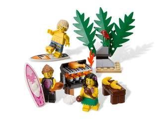 Lego 850449 Minifigure Beach Accessory Pack