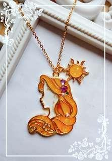 Rapunzel Glow in the Dark Necklace