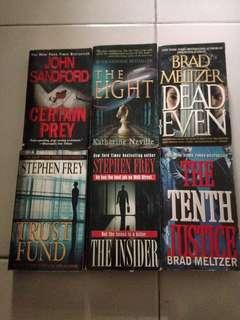 Take all for 400!!!! CRIME Novels in paperback