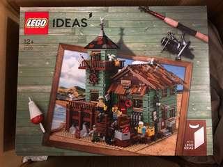 全新未開 Lego 21310 Old Fishing Store