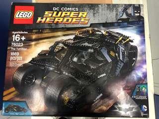 全新未開 Lego 76023 Batman The Tumbler