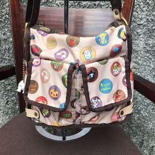 Preloved authentic Tokidoki LeSportsac bag - La Famiglia print