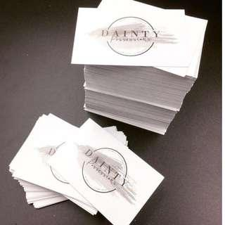 Business Card Calling Card