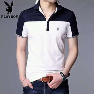 Korean Fashion Playboy Polo shirt High Quality