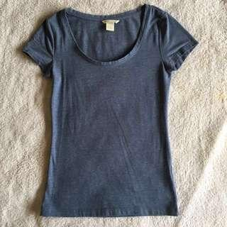 H&M Basic Casual Outing Top Tee #springclean60
