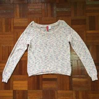 H&M Knitted Sweater Top Tee #springclean60