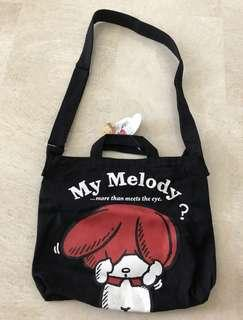 2ba754ba8733 My Melody Black Bag from Japan