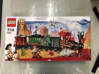 全新未開 Lego 7597 Toy Story Western Train Chase