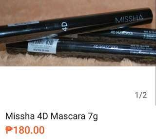 Missha 4D Mascara 7g