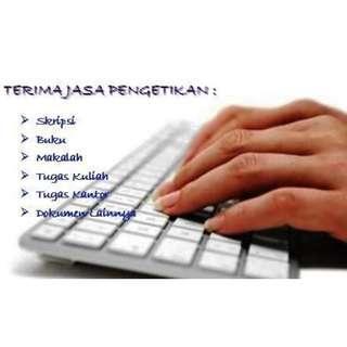 Freelance Jasa Ketik