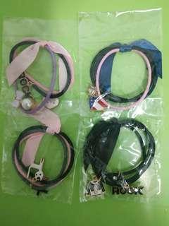 Tie hair band