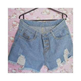 (NEW) Hotpants Ripped