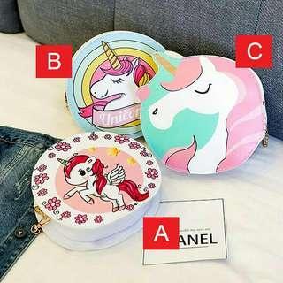 Unicorn Sling Bag (Cute)