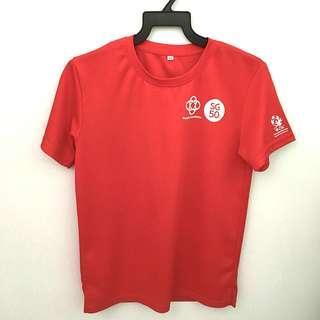 SG50 RED T-SHIRT
