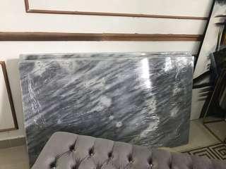 Natural marble table top 5 feet x 3 feet