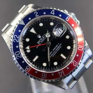 Pre Owned Rolex GMT Master 16710 Stick Dial