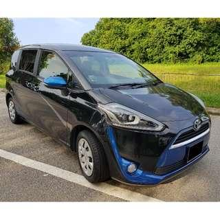 Toyota Sienta (2016) Long term rental available