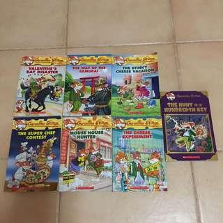 All For $42. Read 1x only - Authentic Geronimo Stilton books