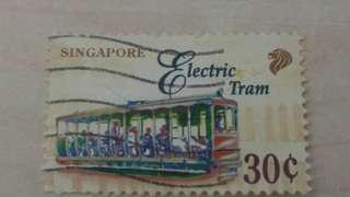 新加坡郵票-各款交通工具