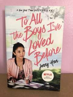 🚚 To All the Boys I've Loved Before