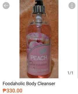 Foodaholic Body Cleanser Peach 750ml