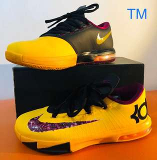 the best attitude 27f32 3bfaa Nike KD zoom VI basketball shoes