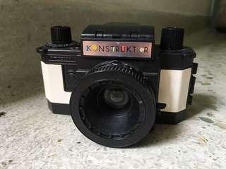 Lomo Konstruktor film camera waist level finder