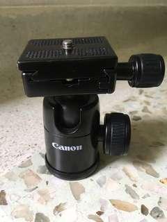 Canon tripod ball head with quick release