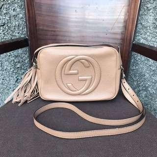 Preloved authentic Gucci Soho disco bag