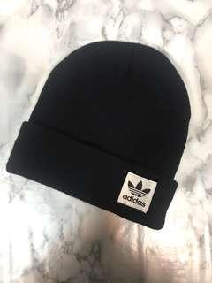 🚚 Adidas 毛帽 黑色