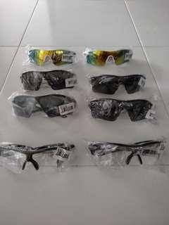 🆒🆕 Outdoor Sport Cycling Eyewear Unisex Windproof Cycling Sunglasses Light Rainproof Bicycle Eyewear UV400 Bicycle Riding Glasses