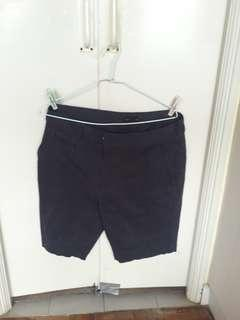 Dark blue Bermuda shorts